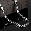 hesapli Erkek Kravatları ve Papyonları-Zincirler / Kolye - Vintage, Parti, İş Siyah Kolyeler Mücevher 1pc Uyumluluk Yılbaşı Hediyeleri