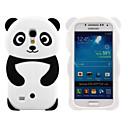 hesapli Galaxy S Serisi Kılıfları / Kapakları-Pouzdro Uyumluluk Samsung Galaxy Samsung Galaxy Kılıf Temalı Arka Kapak 3D Karikatür Silikon için S4 Mini / S3 Mini