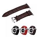hesapli Sony İçin Ekran Koruyucuları-Watch Band için Apple Watch Series 3 / 2 / 1 Apple Klasik Toka Gerçek Deri Bilek Askısı