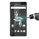 Χαμηλού Κόστους Προστατευτικά οθόνης Tablet-Προστατευτικό οθόνης OnePlus για One Plus X Σκληρυμένο Γυαλί 1 τμχ Προστατευτικά Οθόνης Υψηλή Ανάλυση (HD)