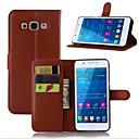 Недорогие Чехлы и кейсы для Galaxy A5-Кейс для Назначение SSamsung Galaxy A7(2016) / A5(2016) / A3(2016) Бумажник для карт / со стендом / Флип Чехол Однотонный Кожа PU
