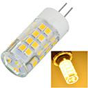 hesapli LED Bi-pin Işıklar-500-600 lm G4 LED Bi-pin Işıklar Gömme Uyumlu 51 led SMD 2835 Dekorotif Sıcak Beyaz Serin Beyaz AC 220-240V