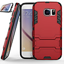 cheap Galaxy S Series Cases / Covers-Case For Samsung Galaxy Samsung Galaxy S7 Edge Shockproof / with Stand Back Cover Armor PC for S8 Plus / S8 / S7 edge