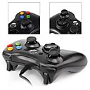 cheap Xbox 360 Accessories-*3-PC001BW Wired Game Controller For Xbox 360 / PC ,  Gaming Handle Game Controller ABS 1 pcs unit