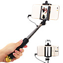 cheap Kitchen & Dining-Selfie Stick Wired Extendable Max Length 110cm Universal Android iOS Apple Samsung Galaxy Huawei