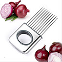 cheap Fruit & Vegetable Tools-Stainless Steel Onion Slicer Vegetable Tools Tomato Cutter Meat Hamstring Fork