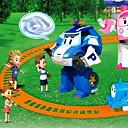 رخيصةأون حافظات / جرابات هواتف جالكسي J-تشكيل المكره البلاستيك الروبوت للأطفال فوق لعبة اللغز 3