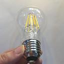 hesapli Diğer LED Işıkları-KWB 1pc 750 lm E26 / E27 LED Filaman Ampuller A60(A19) 8 LED Boncuklar COB Su Geçirmez / Kısılabilir / Dekorotif Sıcak Beyaz 220-240 V / 1 parça / RoHs