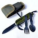 billige Dameure-Knive gaffel opener Enkelt til Plastik Rustfrit Stål udendørs Jagt Camping Rejse