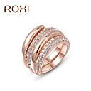 baratos Anéis Grossos-Mulheres Anel de declaração - Liga Fashion Tamanho Único Ouro Rose Para Casamento / Escritório e Carreira