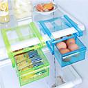 cheap Kitchen Storage-DIY Kitchen Fridge Space Saver Organizer Slide Under Shelf Rack Holder Storage