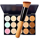 cheap Makeup & Nail Care-15 Colors Concealer Cream Concealer / Contour 1 pcs Dry / Wet / Matte Waterproof / Breathable / Whitening Body / Face Makeup Cosmetic