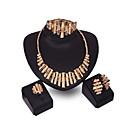 Buy XIXI Women Vintage / Cute Party Alloy Cubic Zirconia Necklace Earrings Bracelet Ring Sets