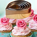 저렴한 베이킹 도구&가젯-Bakeware 도구 스테인레스 DIY 브레드 / 케이크 / Cupcake 베이킹 몰드