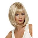 ieftine Machiaj & Îngrijire Unghii-Peruci Sintetice Drept Stil Tunsoare bob Fără calotă Perucă Blond Blond Păr Sintetic Pentru femei Rezistent la Căldură / Partea laterală Blond Perucă Scurt Perucă Naturală