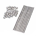 cheap Magnet Toys-63 pcs 6mm Magnet Toy Building Blocks Super Strong Rare-Earth Magnets Neodymium Magnet Magnet Stress and Anxiety Relief Office Desk Toys Kid's / Adults' Boys' Girls' Toy Gift