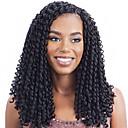 hesapli Tablet Kılıfları-Sentetik Dantel Ön Peruk Kadın's Gevşek Dalgalar Sentetik Saç Peruk Ön Dantel Siyah Simsiyah Siyah