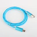 hesapli Telefon Kabloları ve Adaptörleri-USB 2.0 Parlak Kablo Samsung için 100 cm Uyumluluk