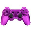 זול אביזרים ל PS3-אלחוטי בקר משחק עבור Sony PS3 ,  בלותוט' / ידית משחק / נטענת בקר משחק ABS 1 pcs יחידה