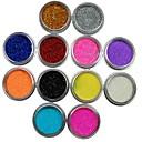 hesapli Makyaj ve Tırnak Bakımı-12 pcs Nail Jewelry / Glitter & Poudre / Diğer Süslemeler Mevye / Çiçek / Soyut Sevimli Günlük / Karikatür / Punk