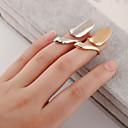 hesapli Yüzükler-Kadın's Tırnak parmak halkası / Midi Yüzük - Gümüş Kaplama, Altın Kaplama Kişiselleştirilmiş, Avrupa, Moda 4 Gümüş / Altın Uyumluluk Günlük