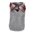 ieftine Pandative-Câine Tricou Pulovere Îmbrăcăminte Câini Englezesc Gri Bumbac Costume Pentru Primăvara & toamnă Iarnă Bărbați Pentru femei Casul / Zilnic Modă