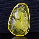 hesapli Takı Uçları-Koyu Sarı Mücevher Için 1pc