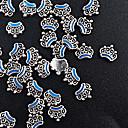 ieftine Artă Ștrasuri Colorate-10 pcs Bijuterie unghii Încântător nail art pedichiura si manichiura Metalic / Floare / Unghiul de bijuterii / MetalPistol