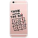 저렴한 아이폰 케이스-케이스 제품 Apple iPhone X iPhone 8 iPhone 6 iPhone 6 Plus 패턴 뒷면 커버 단어 / 문구 하드 PC 용 iPhone X iPhone 8 Plus iPhone 8 iPhone 6s Plus iPhone 6s