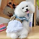 preiswerte Dekoration-Katzen / Hunde Kostüme / Kleider / Overall Blau Sommer / Frühling/HerbstSchleife / Jeans / Weihnachten / Britsh / Halloween / Einfarbig /