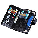 cheap iPhone Cases-SHI CHENG DA Case For Samsung Galaxy Samsung Galaxy S7 Edge Wallet Full Body Cases Solid Color PU Leather for S7 edge / S7 / S6 edge