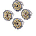 cheap LED Corn Lights-YouOKLight 4PCS MR16 6.5W 500-550lm Warm White 3000K 48-SMD 2835 LED Spotlight   (AC12V)