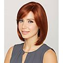 hesapli Makyaj ve Tırnak Bakımı-Sentetik Peruklar Düz Sentetik Saç Kırmızı Peruk Kadın's Şort Auburn