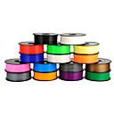 ieftine Gadget-uri USB-Anet 3d cu filament de imprimantă pla 1,75 mm / 3mm pentru imprimare 3D (1buc, culori aleatorii)