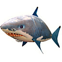 cheap Top Novelty Toys-RC Shark Remote Control Animal Flying Shark Clown Fish Inflatable Realistic Movement Air Swimmer PP+ABS 1 pcs All Boys' Girls' Toy Gift