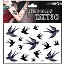 ieftine Tatuaje Temporare-1 pcs Acțibilde de Tatuaj Tatuaje temporare Serie de Animale Non Toxic Arta corpului