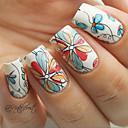 levne Make-up & Péče o nehty-1 pcs Vodotlač nail art manikúra pedikúra Květina / Módní Denní