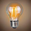 tanie Żarówki LED kulki-1szt 4W 400lm E26 / E27 Żarówka dekoracyjna LED A60(A19) 4 Koraliki LED COB Dekoracyjna Ciepła biel 220-240V