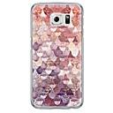 billige Etuier / covers til Galaxy S-modellerne-Etui Til Samsung Galaxy Samsung Galaxy S7 Edge Ultratyndt / Gennemsigtig Bagcover Geometrisk mønster Blødt TPU for S7 edge / S7 / S6 edge plus