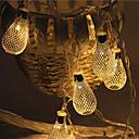 Χαμηλού Κόστους Φωτολωρίδες LED-5m Φώτα σε Κορδόνι 28 LEDs Μικροδιακόπτες (Dip) LED Θερμό Λευκό Αδιάβροχη 220 V / IP44