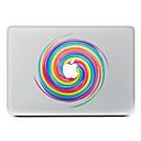 hesapli Mac Stickerlar-1 parça Deri Etiket için Çizilmeye Dayanıklı Geometrik Tema PVC MacBook Pro 15'' with Retina / MacBook Pro 15'' / MacBook Pro 13'' with Retina / MacBook Pro 13 '' / MacBook Air 13'' / MacBook 12''
