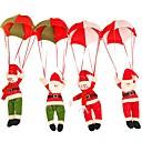 hesapli Temizlik Malzemeleri-1pc Santa Saç Süsleri Noel Parti, Tatil Süslemeleri Tatil Süsleri