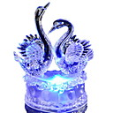 cheap Flashlights-Colorful Romantic Swan LED Night Light Lovely LED Swan Night Lamp Ideal for Wedding Party Gift for friend  children