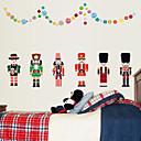 preiswerte Handtücher & Bademäntel-Dekorative Wand Sticker - Flugzeug-Wand Sticker Mode / Weihnachten / Cartoon Design Wohnzimmer / Schlafzimmer / Studierzimmer / Büro