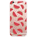 tanie Etui do iPhone-Kılıf Na Apple iPhone X iPhone 8 Etui iPhone 5 iPhone 6 iPhone 7 Ultra cienkie Półprzezroczyste Czarne etui Rysunek Miękkie TPU na iPhone