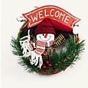 preiswerte Heimbedarf-Weihnachtsfall Kiefernadel Blumenring Ring 22 * 22 * 4 Zufalls