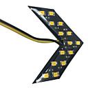 hesapli Araba Arka Lambaları-2pcs Araba Ampul SMD 5630 LED Stop lambası / Dekoratif Lamba / Fren Işığı