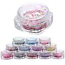Χαμηλού Κόστους Δολώματα & Τεχνητά Δολώματα-12 pcs Σετ διακόσμησης Glitters / Μοντέρνα Καθημερινά Σχεδίαση Νυχιών