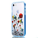 voordelige iPhone-hoesjes-hoesje Voor Apple iPhone 8 iPhone 8 Plus iPhone 5 hoesje iPhone 6 iPhone 7 Transparant Patroon Achterkant Balloon Zacht TPU voor iPhone 8