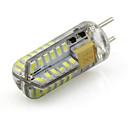 hesapli LED Bi-pin Işıklar-1 adet 3 w gy6.35 led ampul 12 v ac / dc silikon tekne lambası 48 smd 3014 sıcak soğuk beyaz